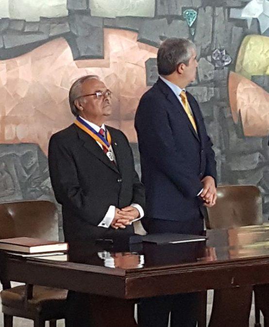 Investidura Profesor Emérito Dr. Bernabé L. Rivas Quiroz