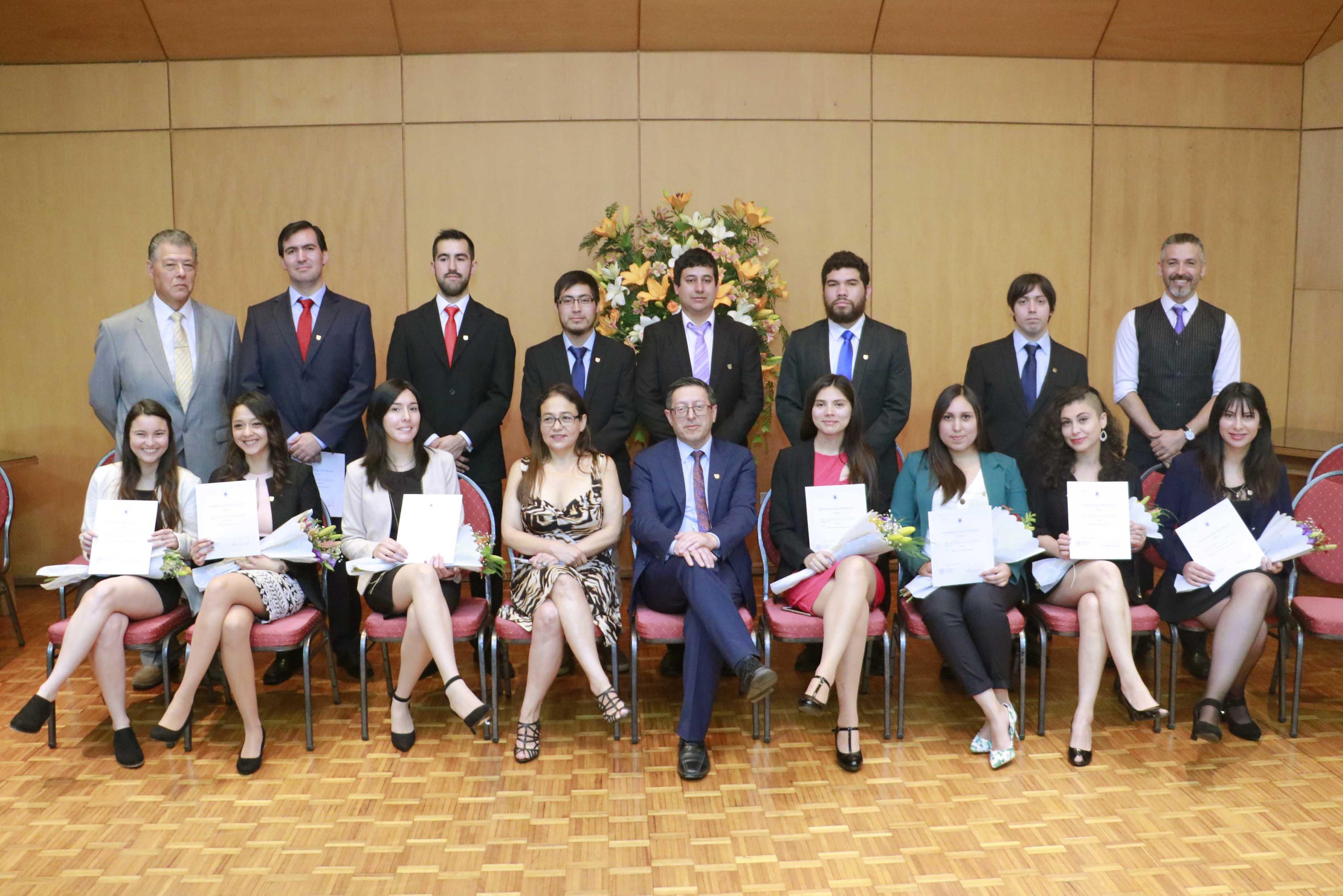 Facultad de Ciencias Químicas graduó a nuevos profesionales