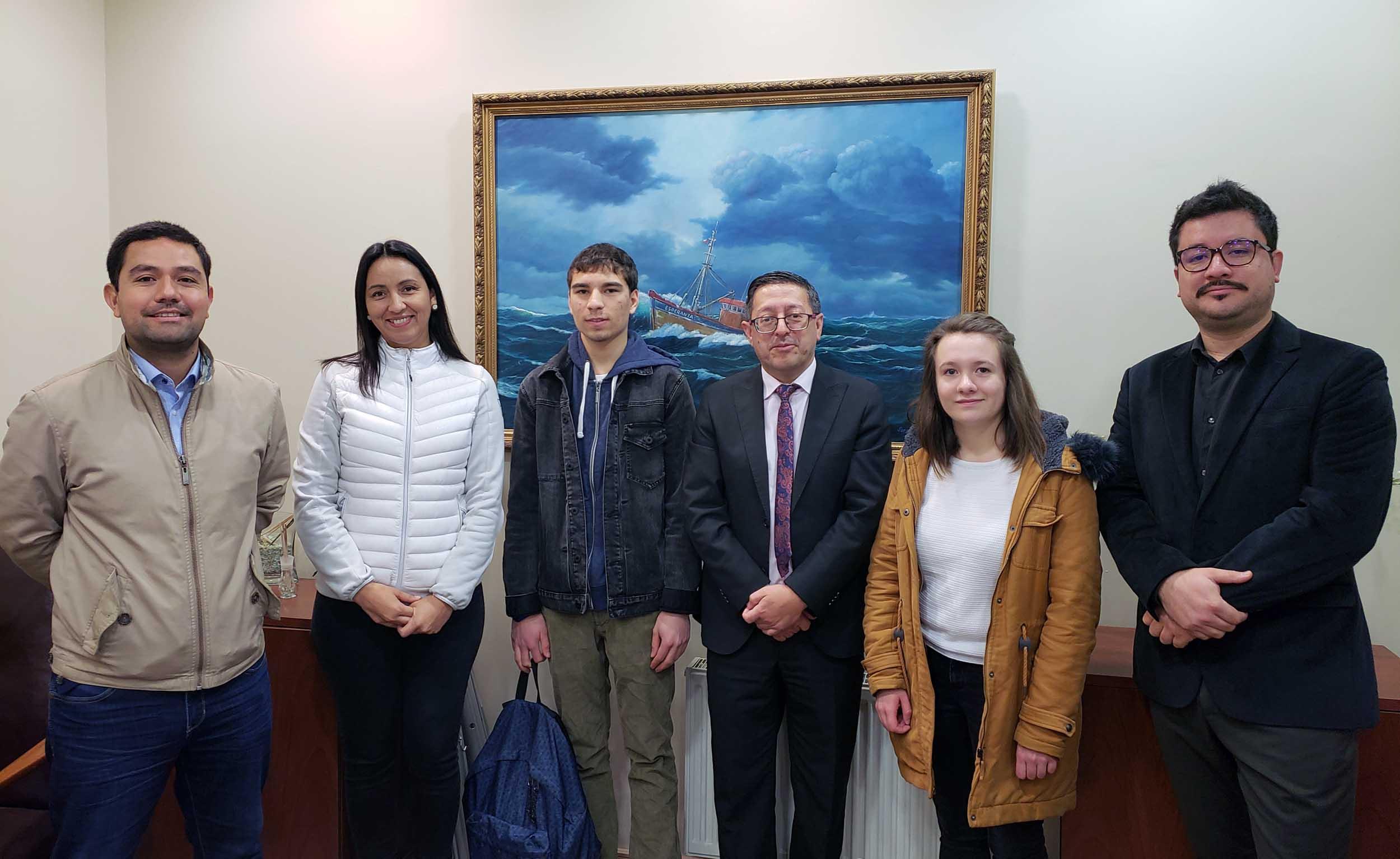 Estudiantes Franceses del IUT de Lannion inician pasantía en la Facultad de Ciencias Químicas