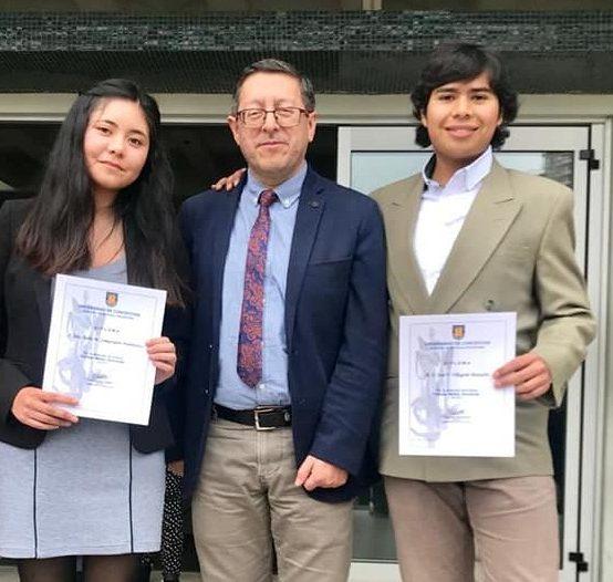 Universidad de Concepción becó a cuatro estudiantes de Ciencias Químicas