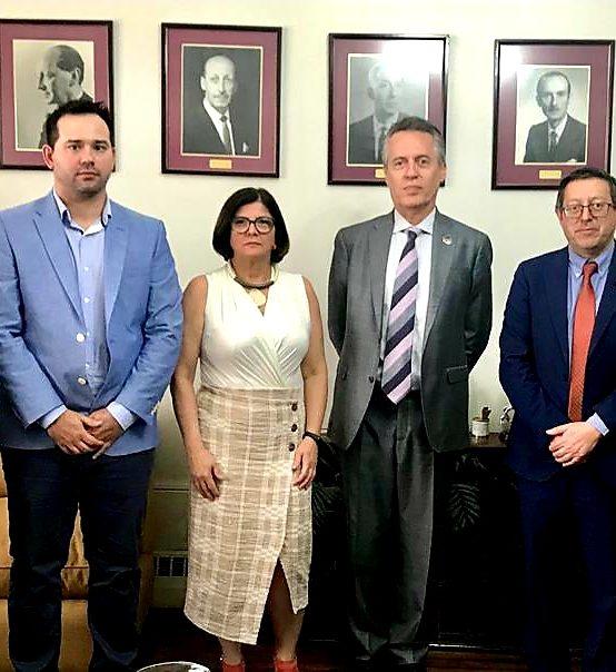 Firman convenio de colaboración entre las Facultades de Ciencias Químicas de la Universidad Federal de São Carlos y la UdeC