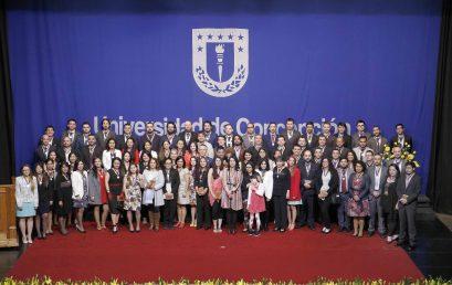 Universidad de Concepción otorga medalla doctoral a 23 graduados de la Facultad de Ciencias Químicas