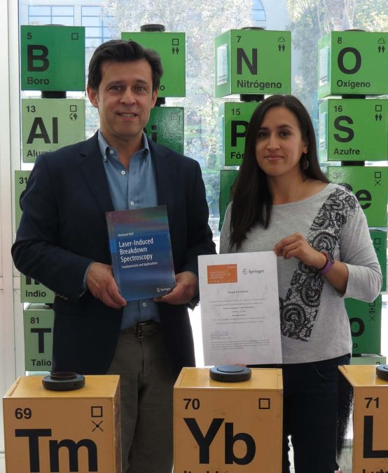 Investigadores de Ciencias Químicas obtienen 1er. lugar en póster durante congreso Internacional de Espectrometría Atómica