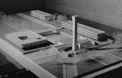 Maqueta Arquitecto Emilio Duhart