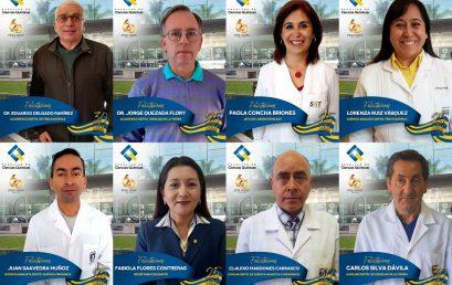 Universidad de Concepción reconoció a 8 trabajadores de la Facultad de Ciencias Químicas por sus 25 y 30 años de servicio