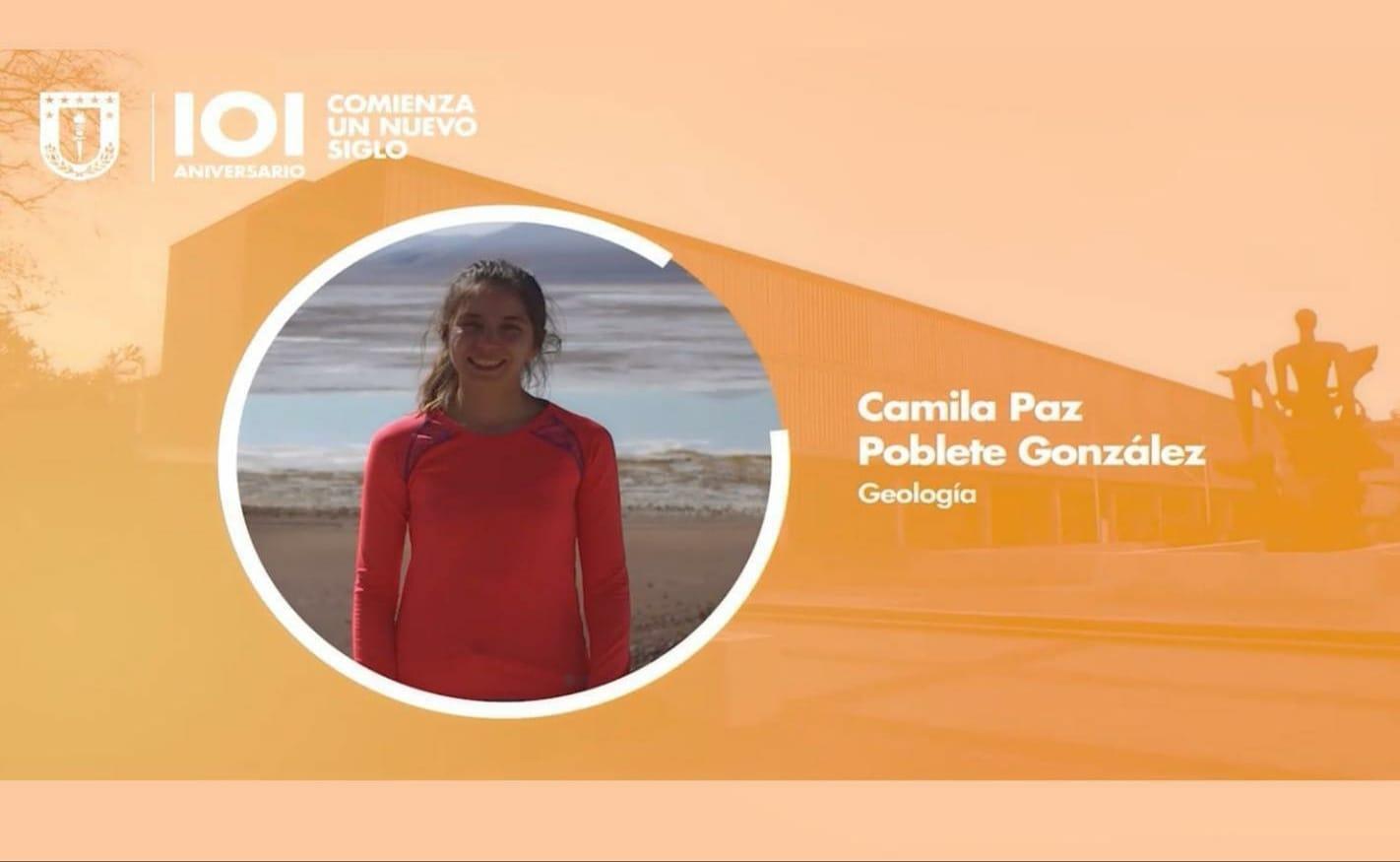 Estudiante de Geología obtiene el Premio Universidad de Concepción