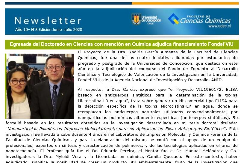 FCQ Noticias: Junio-Julio 2020