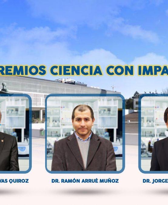 Académicos de la Facultad de Ciencias Químicas entre los investigadores galardonados con los Premios Ciencia con Impacto