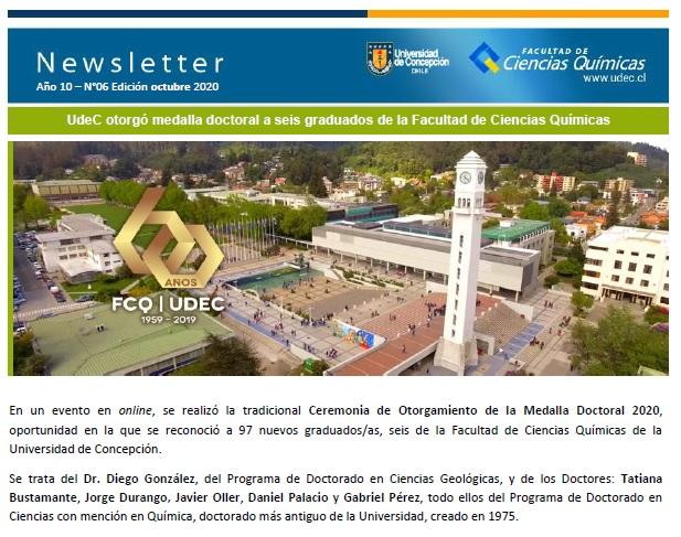 Newsletter: Octubre 2020