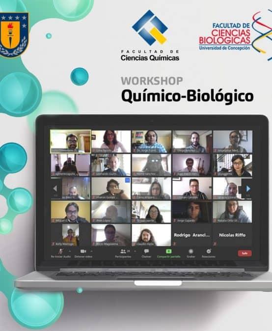 Con éxito se realizó Workshop Químico-Biológico UdeC