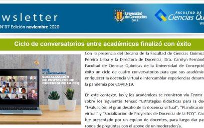 Newsletter: Noviembre 2020