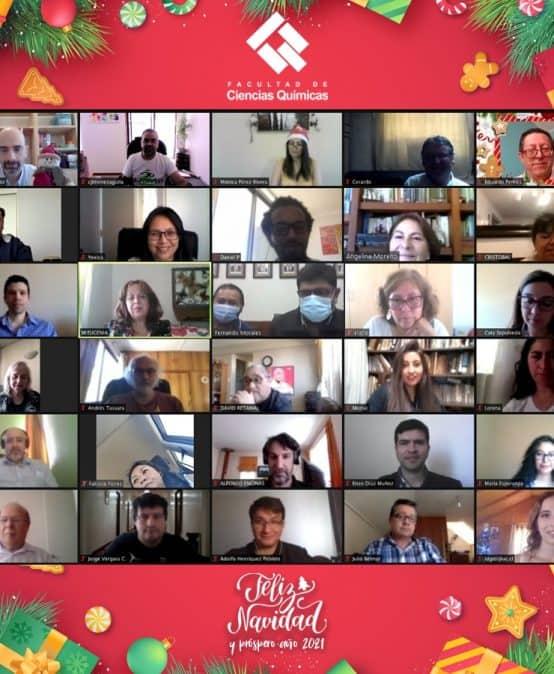 La Comunidad FCQ celebró navidad de forma virtual