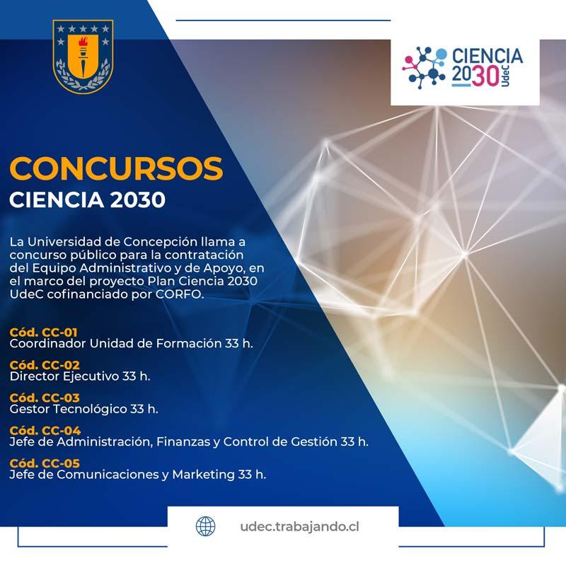 Concursos Ciencia 2030