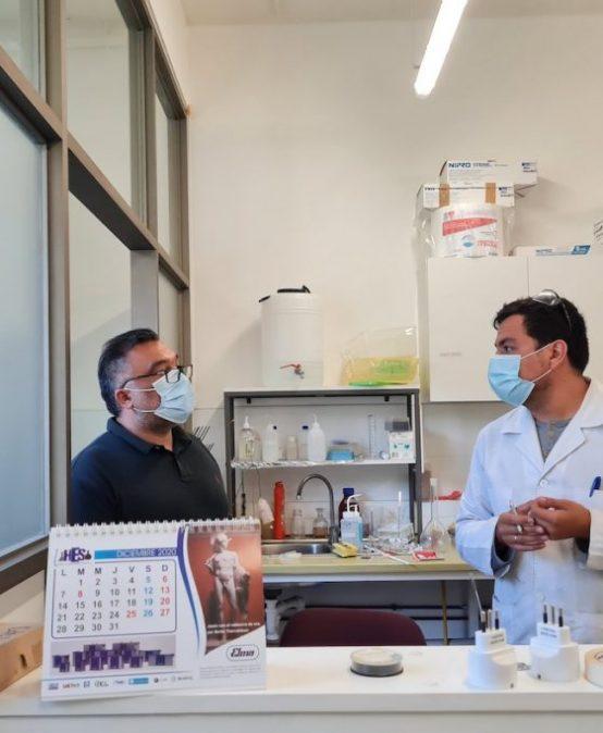 Revisan medidas de prevención en la Facultad de Ciencias Químicas