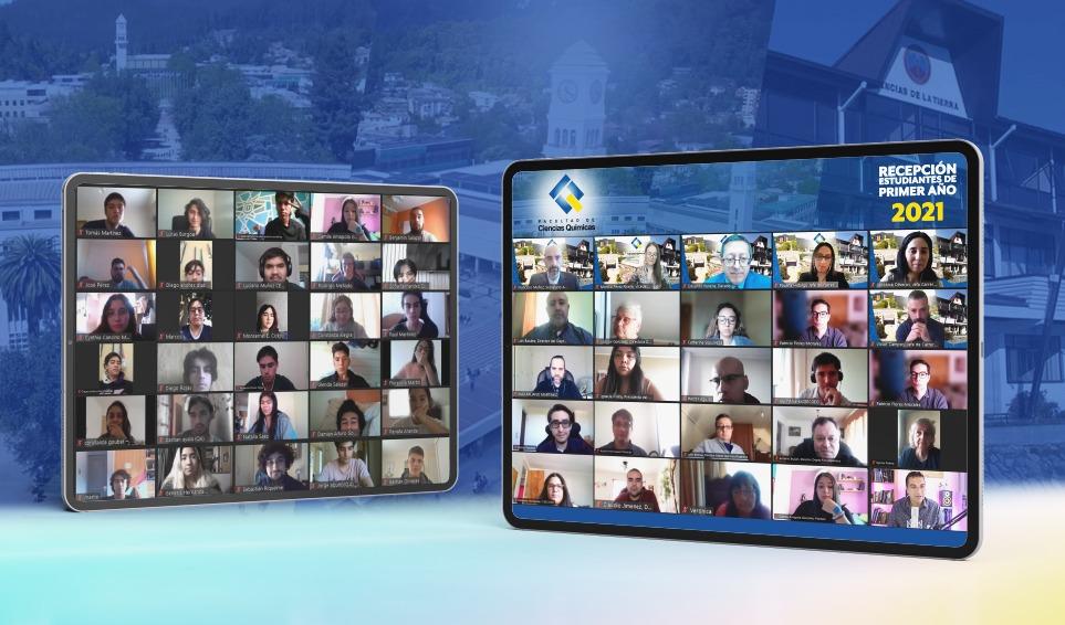 Con ceremonia online Facultad de Ciencias Químicas da la bienvenida a sus mechones 2021