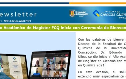 Newsletter Abril 2021