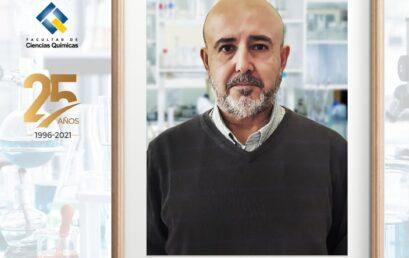 Profesor Luis Basáez cumple 25 años de servicio en la Universidad de Concepción