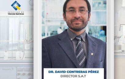 Profesor David Contreras asume como nuevo Director del S.A.T