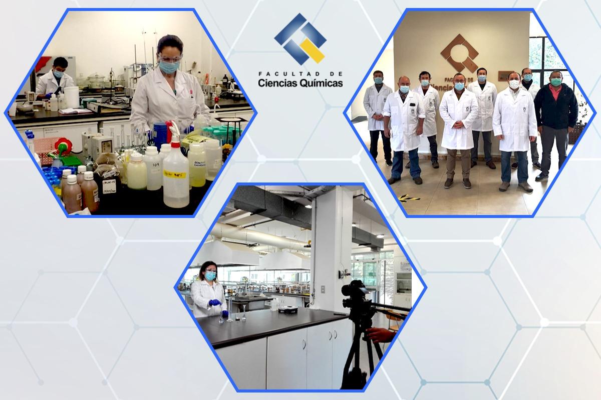 Conozca algunas de las actividades esenciales que se realizan en la Facultad de Ciencias Químicas
