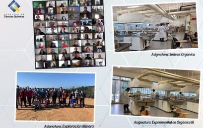 Facultad de Ciencias Químicas da a conocer resultados de la encuesta SUSESO/ISTAS 21 y principales actividades presenciales